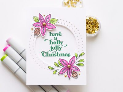 Essentials by Ellen Holiday Release - Holiday Sprigs Card